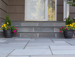 Front Steps Contractors | Pavers, Brick, Stone and Stamped