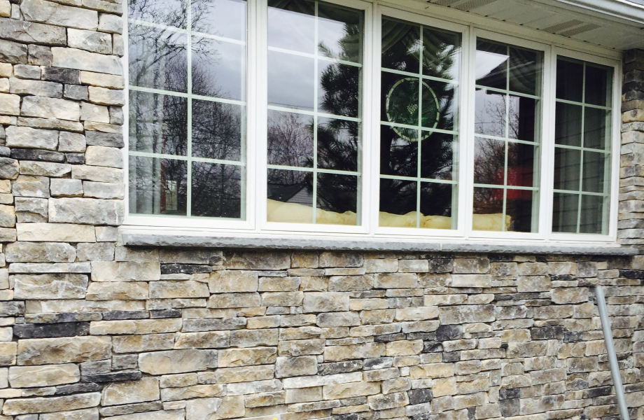 Cultured Stone House Refacing, Scotch Plains, NJ 2015