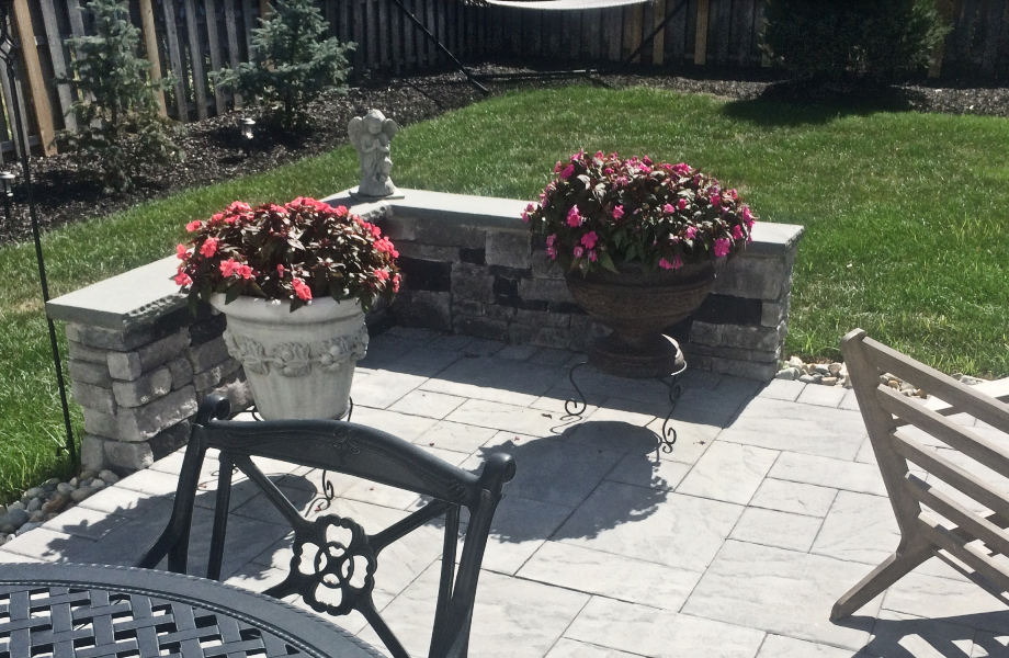 Patio and Sitting Wall, Summit, NJ 2015