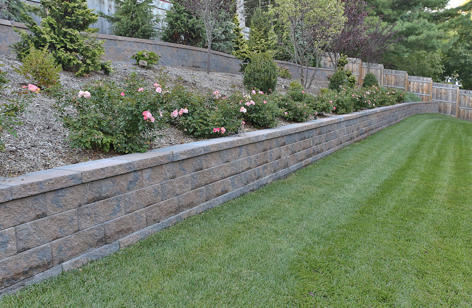 Retaining Wall, Springfield, NJ 2015