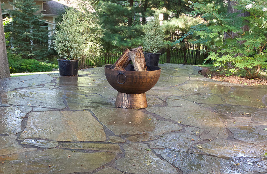 Stone Patio, Scotch Plains, NJ 2015